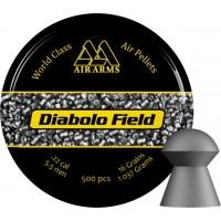 Air Arms Diabolo Field .22 ( 5.51 - 5.52 ) 16gr Lead Pellets
