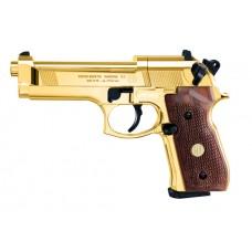 Beretta 92FS 24 Carat Gold-Plated Wooden Grips