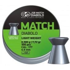 JSB Match Diabolo Lightweight .177 7.72 gr 4.50
