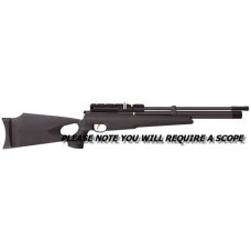Hatsan AT44-10 - 10 Shot Black Thumbhole PCP Rifle