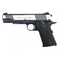 Colt 1911 Rail Gun Dual Tone Full Metal 6mm BB Pistol