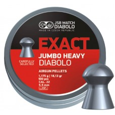 JSB Exact Jumbo Heavy .22 18,13gr
