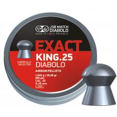 JSB Exact King .25 25.39 gr 6.35
