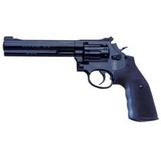 """Smith and Wesson CO2 6"""" BLACK 586"""
