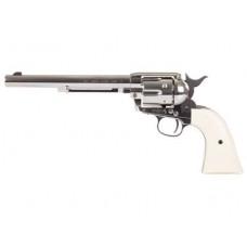 """7 1/2 """" Colt Peacemaker Nickle Chrome Rifled Barrel .177 Pellet"""