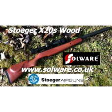 Stoeger Arms X20S Suppressor Wood .177 & .22 Air Rifle