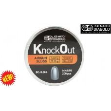 JSB Knockout Slugs .22 25.39gr (.216) QTY 200
