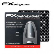 FX Hybrid Slug .22 Cal 22 Grain 100 Per Sleeve