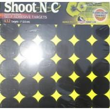 Shoot N C Exploding Target Spots Qty 432 (1 Inch)
