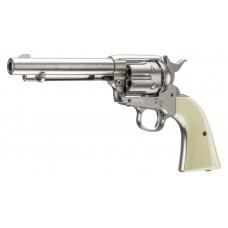 Umarex Nickle Chrome Colt 45 Peace Maker Revolver Air Pistol