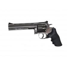 """ASG Dan Wesson 715 6"""" Grey Steel Revolver 177 Pellet Shooting Version"""