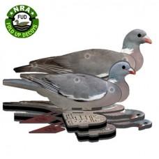 FUD Wood Pigeon Decoys (WP)  Pack of 6