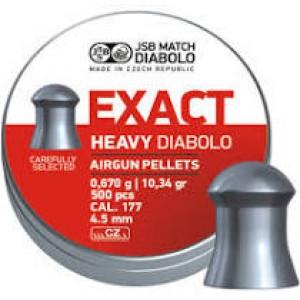 JSB Exact Heavy 177 4.51 Lead Pellets