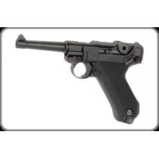 KWC Luger PO8 KMB18 Steel BB Pistol