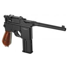 KWC Metal Broomhandle Mauser M712 Blowback action Full Metal