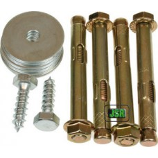 Fixing Bolts For Brattonsound & Other Gunsafes [6 Pack]