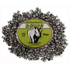 Milbro .25 Rhino Pellets Lead Pellets - Air Rifle Pellets