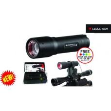LED Lenser P7 Torch & Gun Mount Gift Set