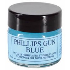 Philips Gun Blue 20g Glass Jar by Phillips
