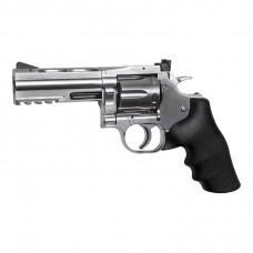 "ASG Dan Wesson 715 4"" Silver Revolver 177 Pellet"