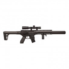 Sig Sauer MCX Black With Sig 20R 1-4x24 Scope Semi Auto Lead Pellet Air Rifle