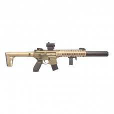 Sig Sauer MCX FDE With Sig 20R Red Dot Semi Auto Lead Pellet Air Rifle