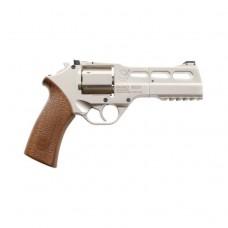 Rhino 50DS Air Pistol in Nickel 4.5mm Co2