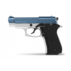 Retay 84 FS Chrome/Blue 9MM P.A.K