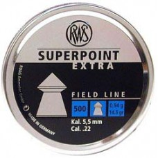RWS SuperPoint Extra .177 & .22 Caliber Lead Pellets
