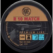 RWS R10 Pistol .177 Match Pellets