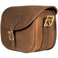 Devonshire Leather Cartridge Bag - 100 Shell Capacity