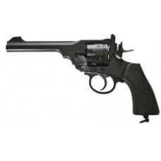 Webley MKVI 177 Pellet Revolver Air Pistol Black