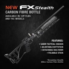 FX Dreamline Stealth 480cc Carbon Fibre Bottle