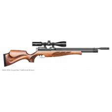Air Arms S400 Superlight Traditional Brown Rifle