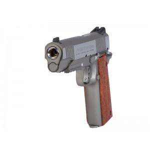 Swiss Arms Colt 1911 Tactical Rail Gun Nickle Heavy Weight 4.5mm Air Pistol