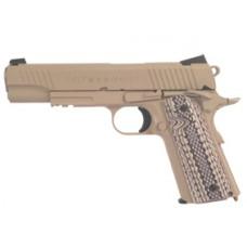 Colt 1911 Rail Gun Tan Full Metal 6mm BB Pistol