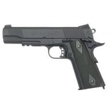 Colt 1911 Rail Gun Black Full Metal 6mm BB Pistol