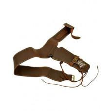 Western Revolver Leather Holster Belt