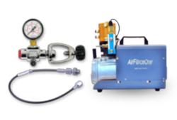 AIr Gun Filling Equipment - Styrup Pump, Bottles & Compressors